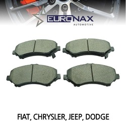 EUROCLASS 유로클라스, EURONAX 브레이크패드, 앞, 세라믹 FIAT, CHRYSLER VOYAGER, WRANGLER, CHEROKEE, DODGE, JOURNEY 외