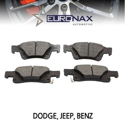 EUROCLASS 유로클라스, EURONAX 브레이크패드, 뒤, 세라믹 DODGE DURANGO, JEEP GRAND CHEROKEE, BENZ G,GL,M,R-CLASS